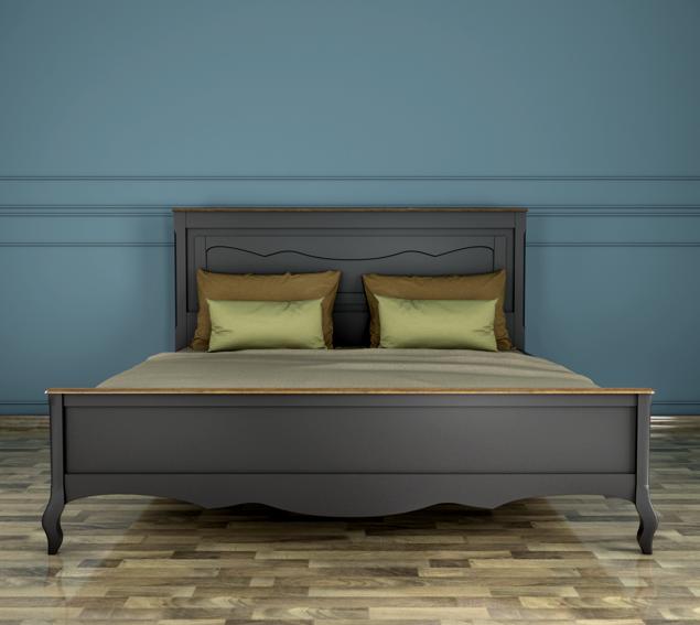 Кровать ST9341/18BLK